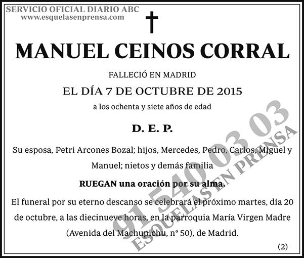 Manuel Ceinos Corral